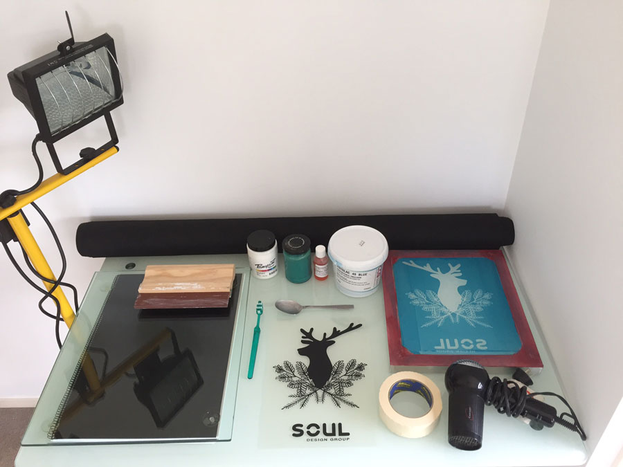 screenprinting supplies
