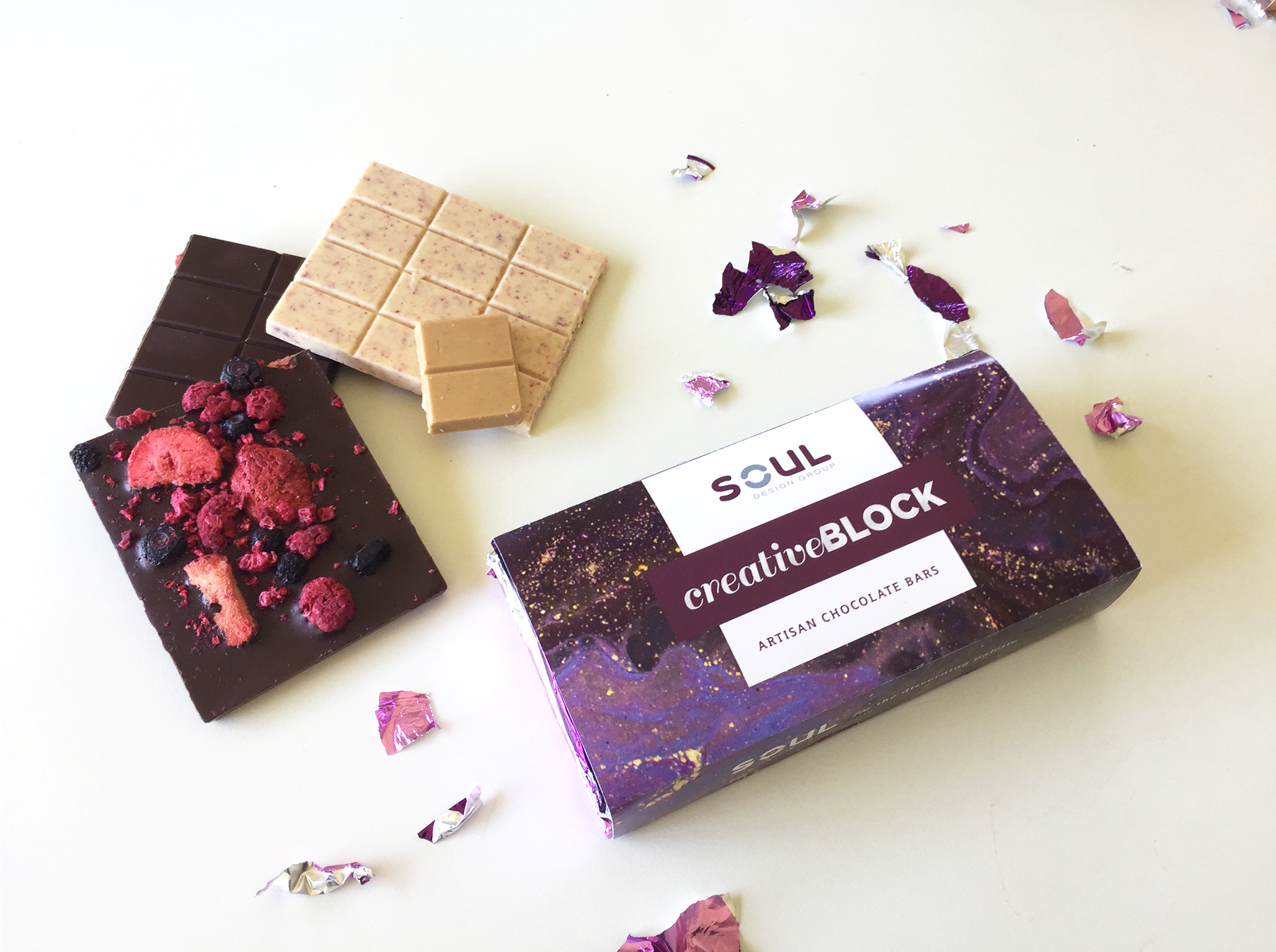 Creative Block Chocolate Bar Competition